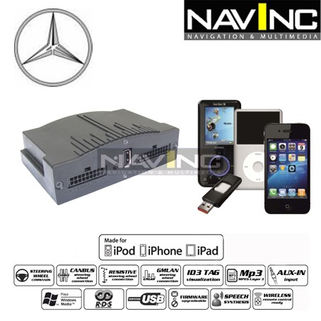 Ipod IPAD IPHONE 4 5 6 Interfaz Lightning Adaptador para Lexus Original Radio 6+